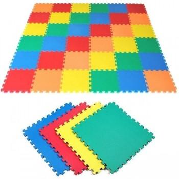 Plancha tapiz Eva 100x100x2,5 cm azul