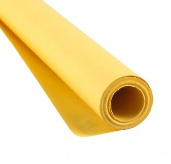 Bobina 10kg papel kraft verjurado 65gr color amarillo