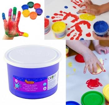 Bote pintura a dedo Jovi 500ml violeta