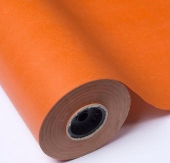 Rollo papel kraft gama coral 1x10m naranja
