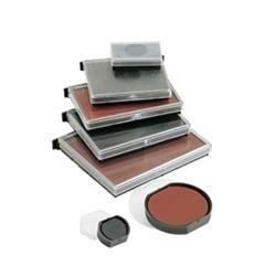 Blister 2 almohadillas Colop e-38 para printer 38, 38 DATER 33X56 mm negro