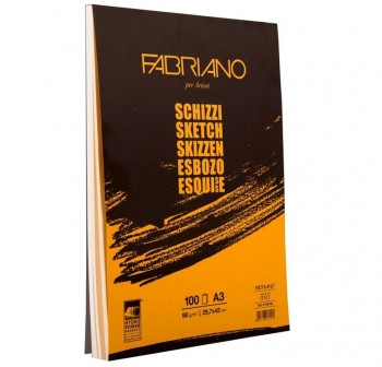 FABRIANO Block deesbozos 210x297 90gr. TOP