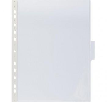 Caja 5 fundas clasificadores a4 transparente marco transparente