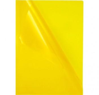 Caja 100 dossiers uñeros pp 120m folio amarillo