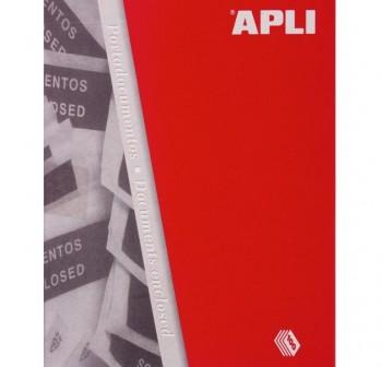 Apli Bolsa 240x180 packing list c-100und
