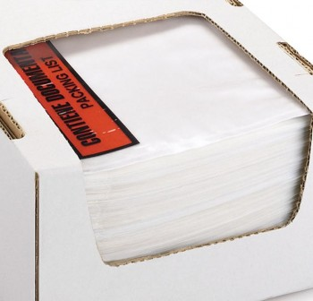 Caja 250 sobres adhesivos Portadocumentos dokufix texto impreso 225x166mm