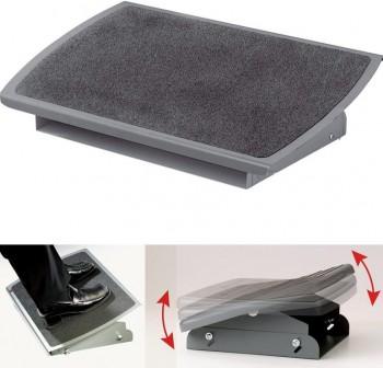 3M Reposapies ergonómico confort metálico 33x45cm FR430CB