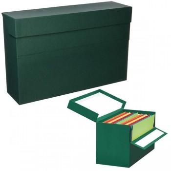 Caja transferencias Elba folio lomo 210mm verde