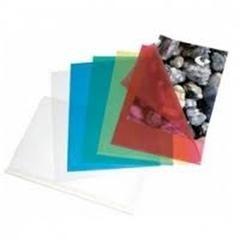 Caja 50 Dossiers uñeros PVC folio azul