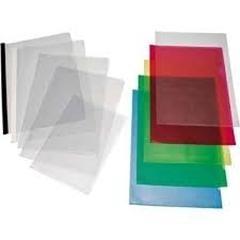 Caja 50 Dossiers uñeros PVC folio rojo