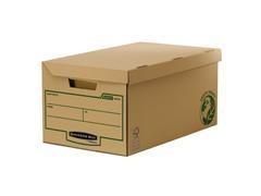 Pack 10 maxi contenedor archivo R-kive tapa fija 325x260X535mm