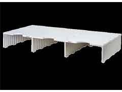 ARCHIVO2000 Buc modular archidoc trio ampliacion de 3 huecos de  127mm de alto GRIS