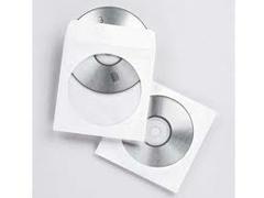 FELLOWES Funda cd pack.50udes papel
