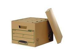 Pack 10 gran Contenedor archivo R-kive 260X325x375mm marrón