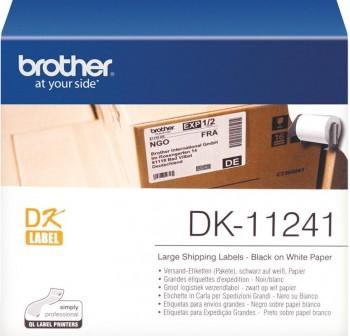 BROTHER Etiqueta QL 102X152mm precortada blanca papel 200etiquetas.