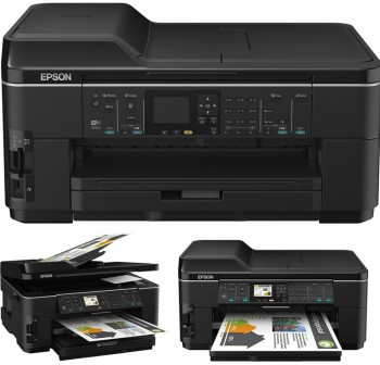 EPSON Equipo multifuncion inkjet color WORKFORCE WF-7515 A3+ 15ppm 1200dpi ETHERNET USB  WIFI