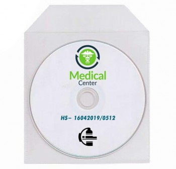 ARTES Sobre CD plastico transparente c-40