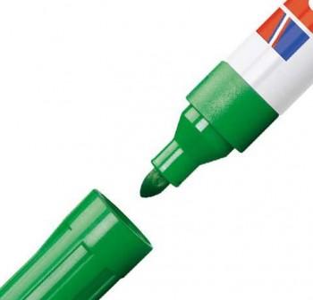 Marcador pizarra blanca Edding 660 trazo 1,5-3mm verde