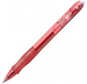 Boligrafo retráctil tinta gel Gel-Ocity rojo