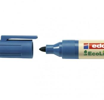 Marcador Pizarra ecológico punta cónica ecoline edding 28 trazo 3Mm azul