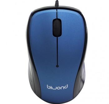 BIWOND Raton wired USB 2.0 azul RN01