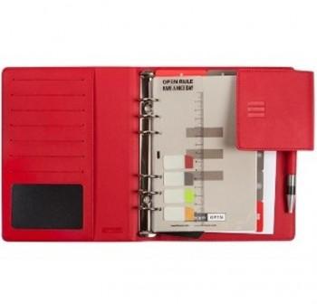 Agenda finocam open 500 flap semana vista 11,7x18,1cm rojo