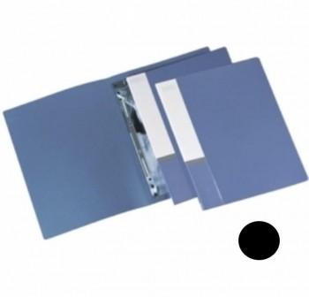 Dossier bolsa + autopers. fastener A4 Multifin d092 NEGRO