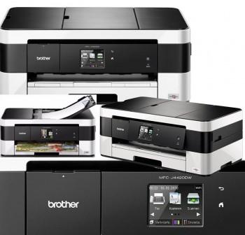 BROTHER Impresora InkJet multifuncion MFC-J4420DW 4-1/20-18ppm/USB+Wifi/LCD/Duplex