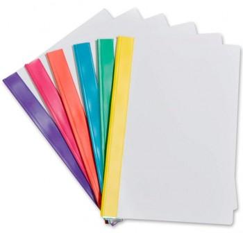 GRAFOPLAS Dossier fastener colors folio ROSA (12)