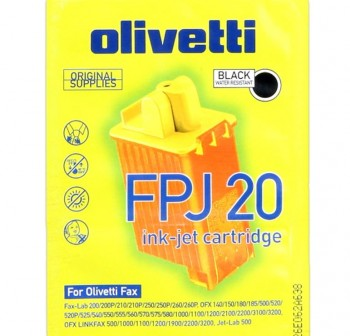 OLIVETTI Cartucho inkjet FPJ-20 negro original
