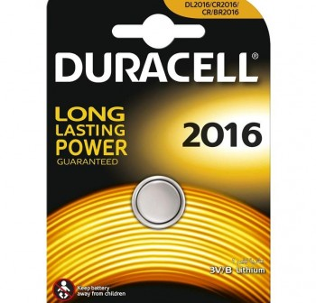 Blister 2 Pilas Duracell DL 2016