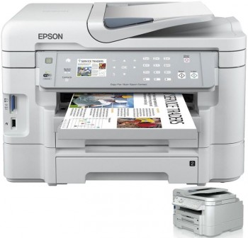 EPSON Equipo multifuncion inkjet color WORKFORCE WF-3530DTWF A4 38ppm 5760X1440dpi ETHERNET USB  WIF
