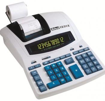 Calculadora Impresora IBico 1231 12 digitos