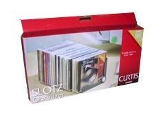 CURTIS Archivador cd slotz para 20 cd s