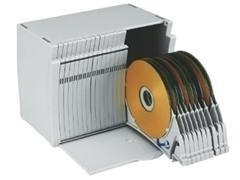 Archivador 50 CD gris