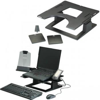 Elevador de Portátil ajustable LX500 33x33x10,1-13,5cm