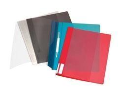 LEITZ Dossier fastener portada transparente DIN-A4