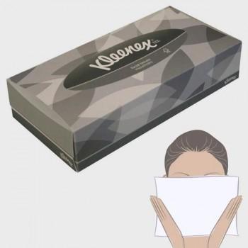 Pañuelos faciales Kleenex 90 servicios