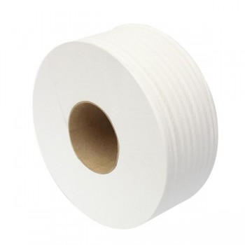 Pack 18 rollos papel higiénico industrial eco liso 130m