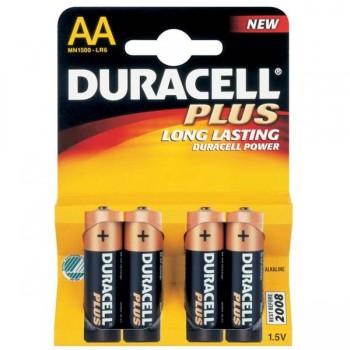 DURACELL Pila alkalina lr-06 (4) AA
