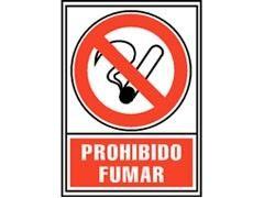 """ARCHIVO2000 Letrero 210x297 \""""prohibido fumar\"""" (nueva ley)"""