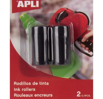 Blister 2 rodillos tinta etiquetadora 101418