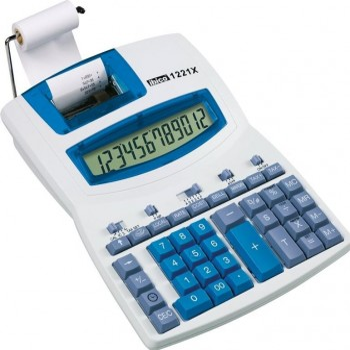 Calculadora impresora Ibico 1221x 12 digitos