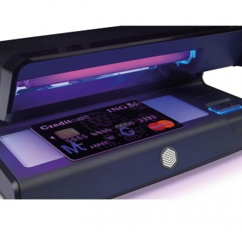 Detector de billetes falsos ultravioleta Safescan 70 20,6x10,2x8,8cm color negro
