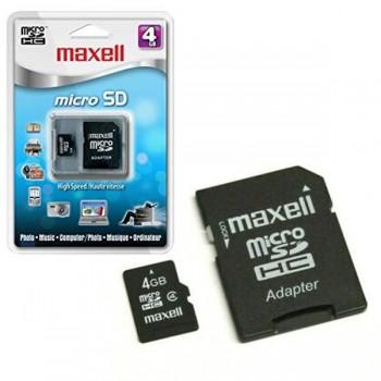 Tarjeta de memoria micro SD 4GB