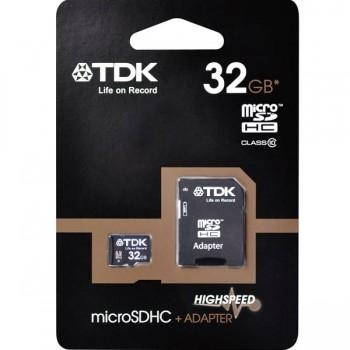Tarjeta de memoria micro SDHC 32GB Class 10 TDK