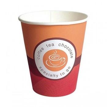 Pack 100 vasos papel café 150ml